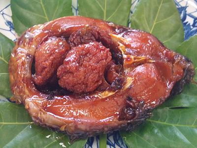 茨城県かすみがうら市の鯉甘露煮